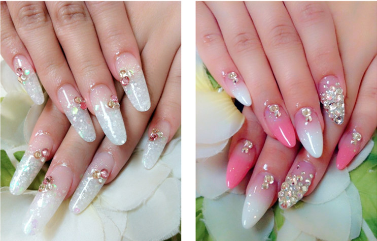 Rhinestone Nail Decoration