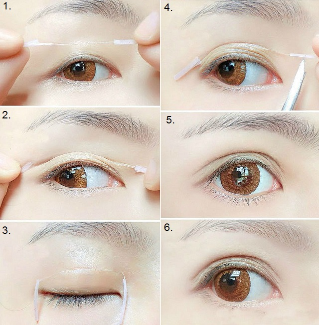 Eye Bag Eyelid Tape