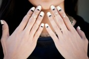 French Manicure Sticker
