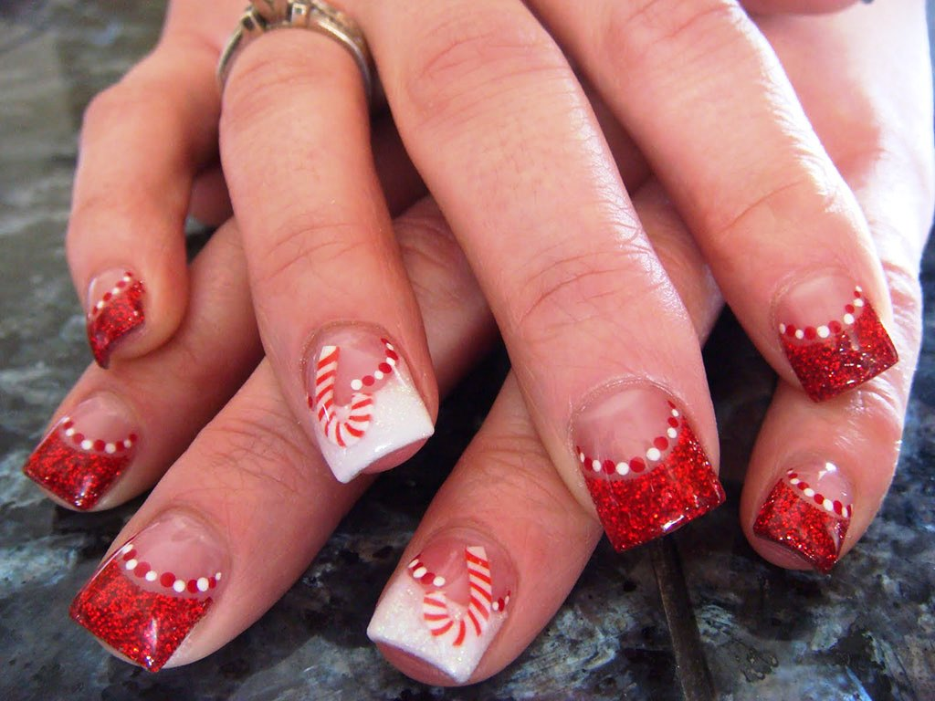 Unique & Chic Nail Art Sticker for Christmas - Beauty Life