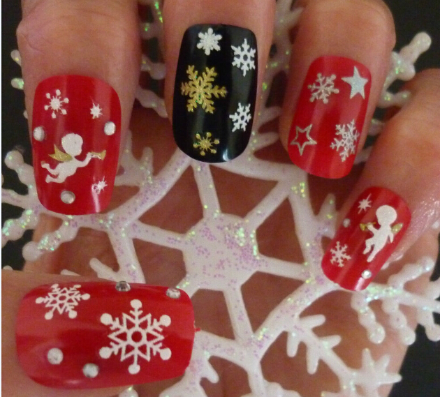 Christmas Design Transfer Decals