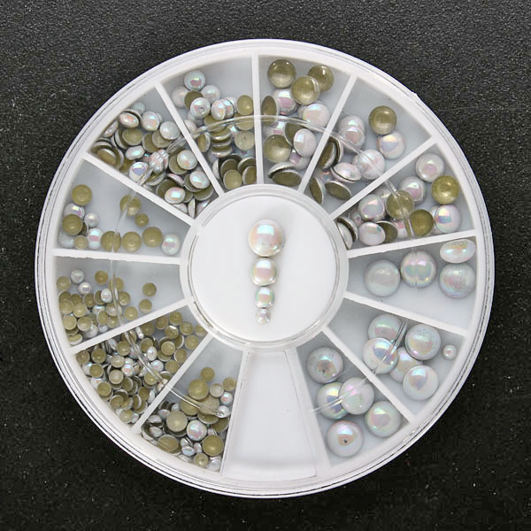 Multicolor Nail Decoration Wheel
