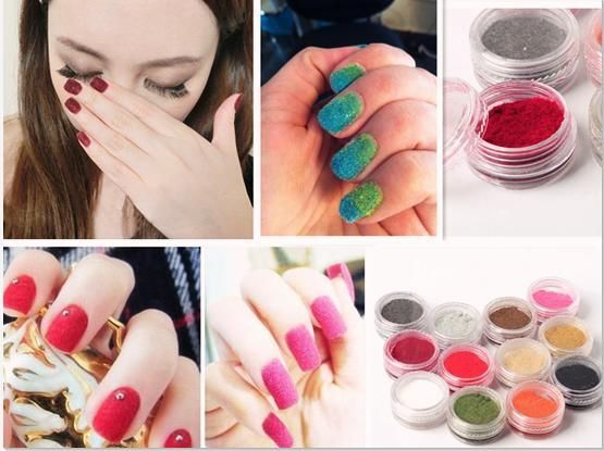 Nail Art Flocking Powder