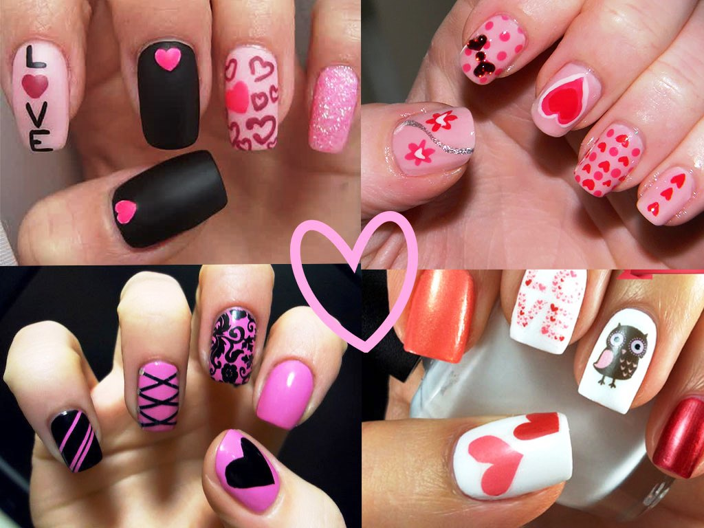 Valentine Nail Art for 2015 - Beauty Life