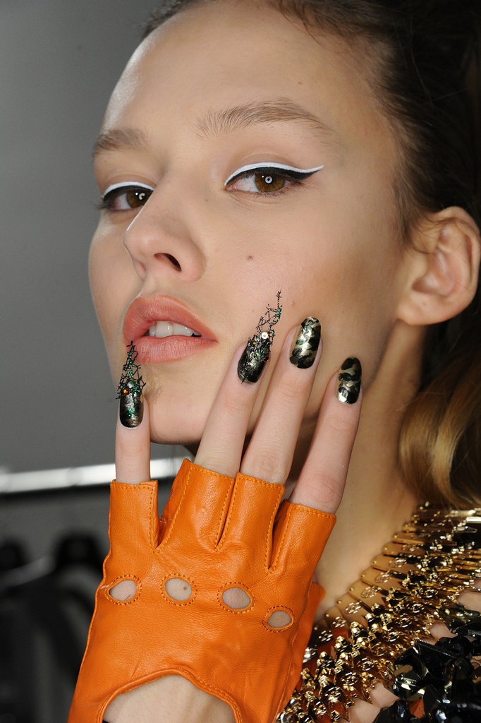 nail art of Blonds Fall 2015