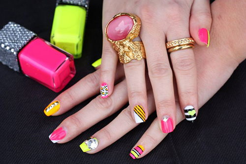 The Creative & Inspiring Nail Art in Summer - Beauty Life