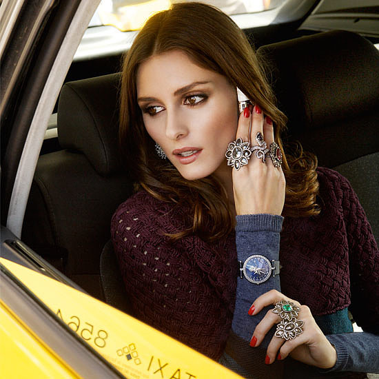 Olivia Palermo's beauty sharing