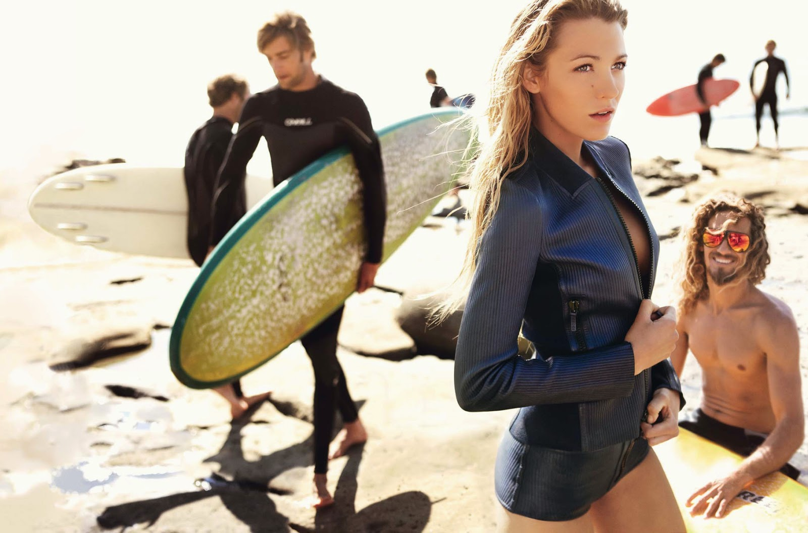 Beachy Waves The Best Hairstyle For Surfer Girls Beauty
