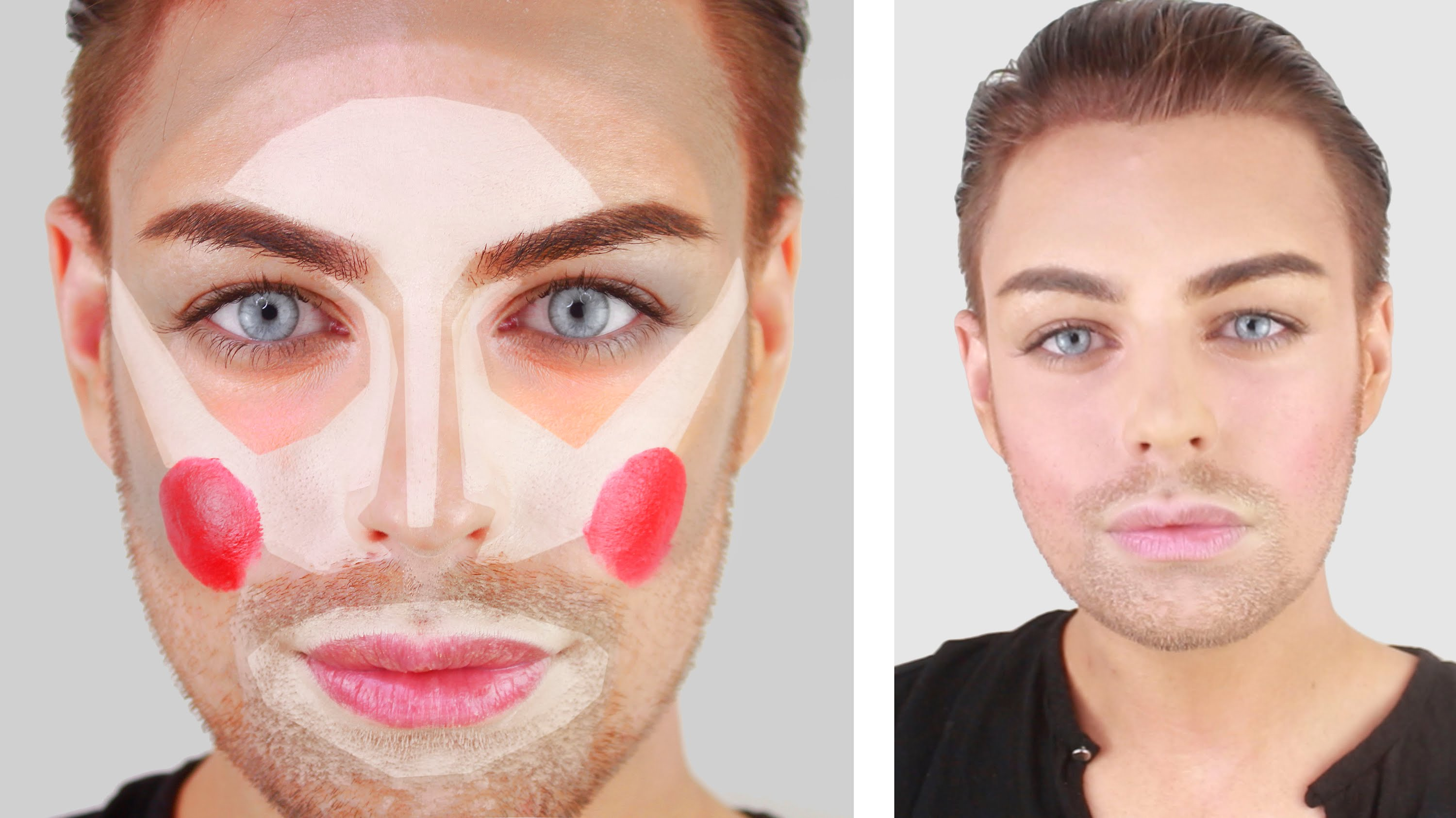 Two Necessary Products of Clown Contouring