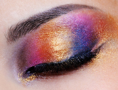 rainbow eyeshadow