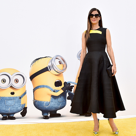 the minion high-heeled shoes