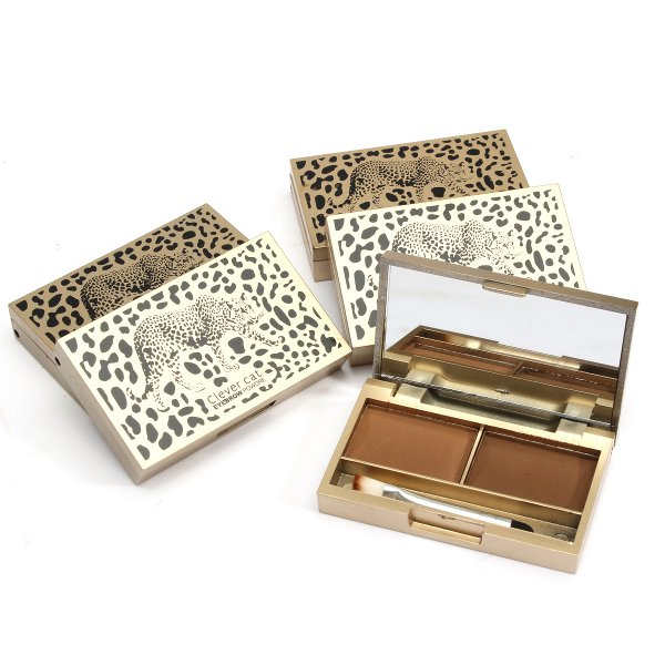 2 Colors Eyebrow powder Palette
