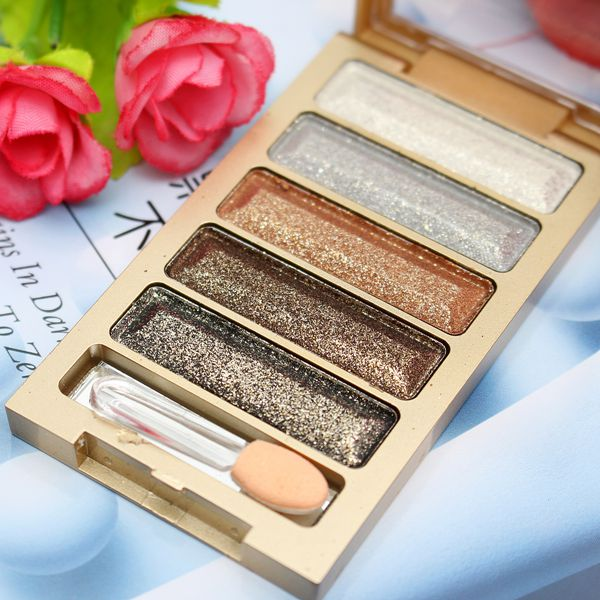 5 colors eyeshadow palette