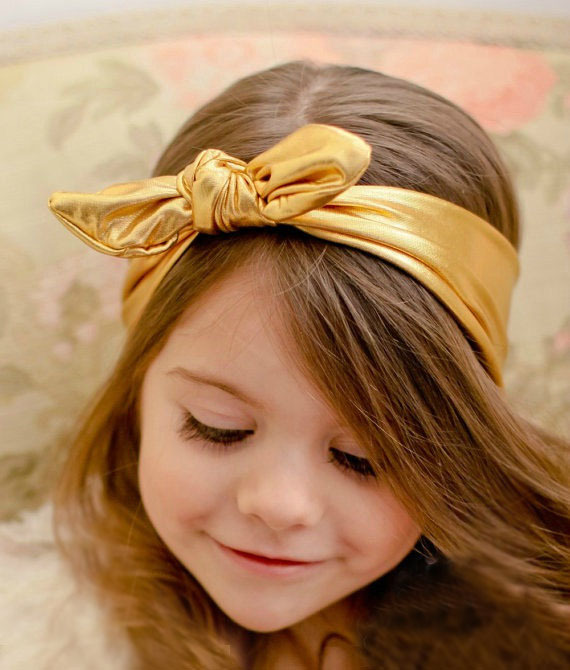 Korean Rabbit Ear Ribbon Headband