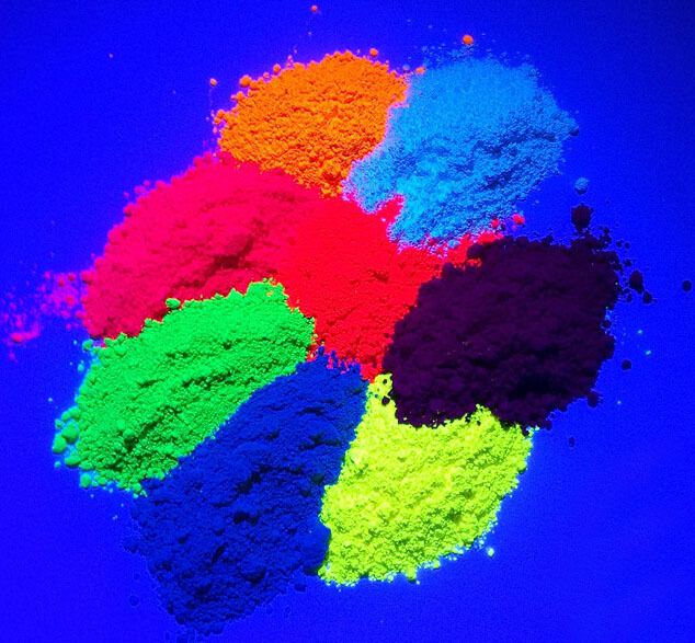 Nail Fluorescent Acrylic Powder Decoration