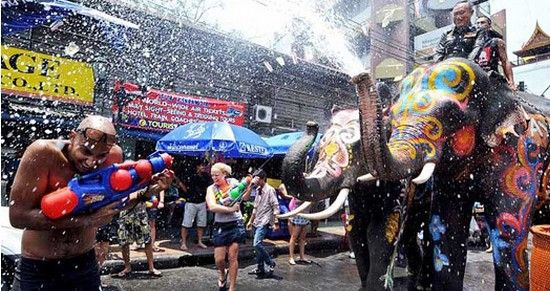 Water - sprinkling festival