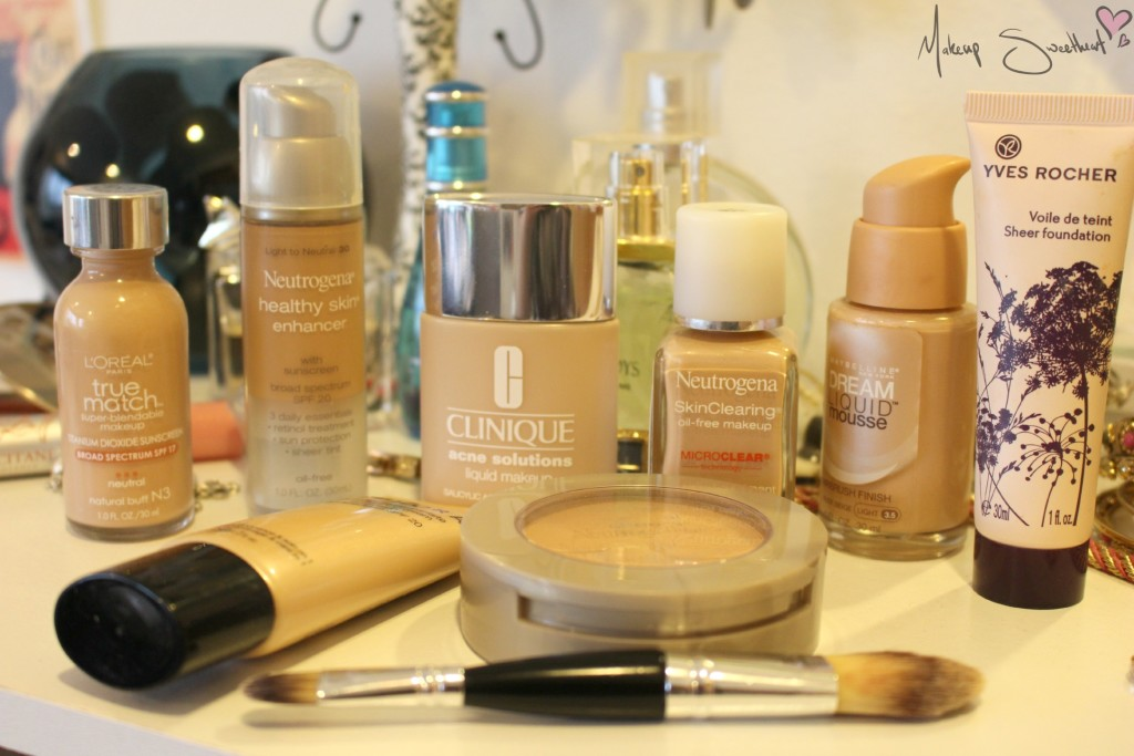 all kinds of foundation