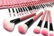 32PCS Pink Makeup Brushes