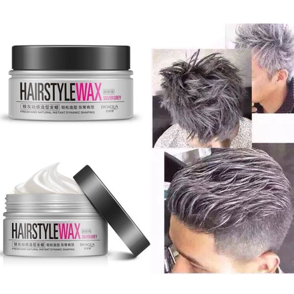 Disposable hair dye cream