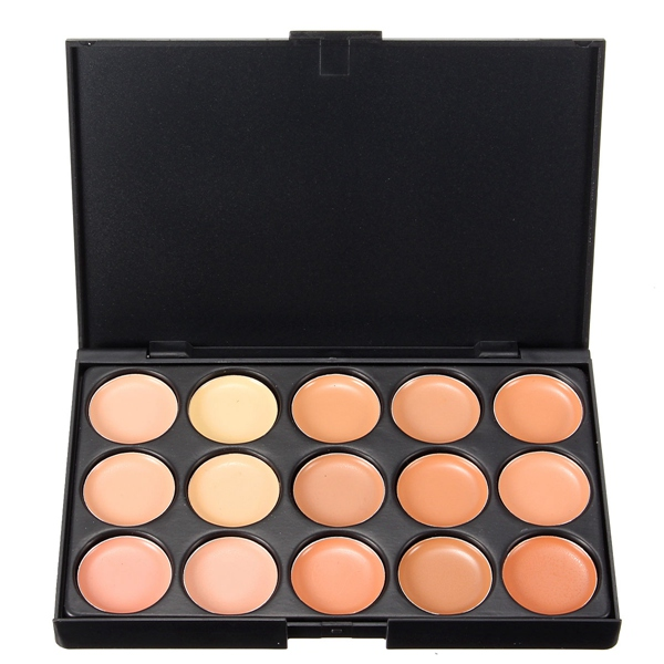 15 color concealer palette