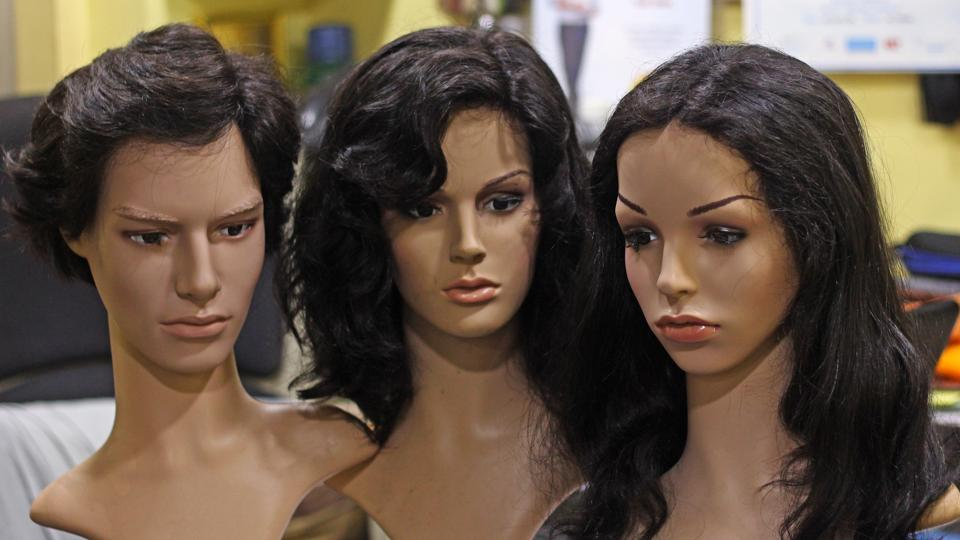 cosmetology mannequin head