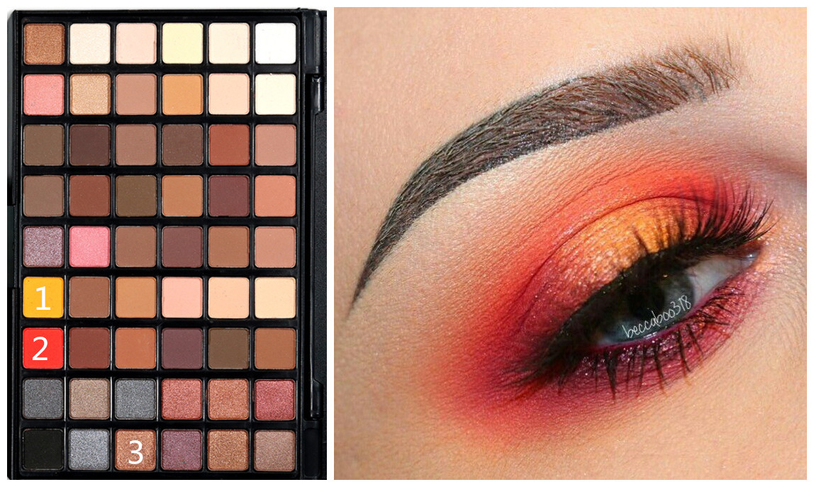 54 Colors Eyeshadow Palette