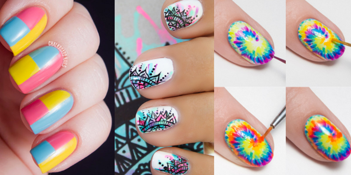 Awesome and Easy Nail Art Ideas - Beauty Life