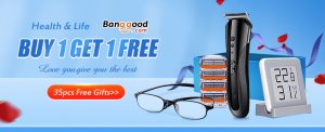banggood health life promotion