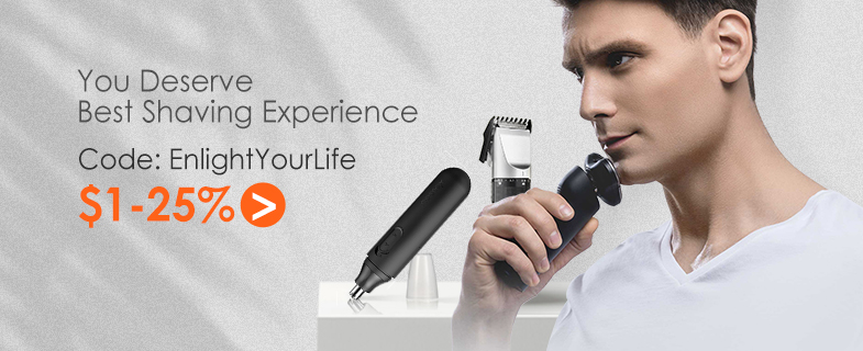 Banggood Electric Shaver Promotions